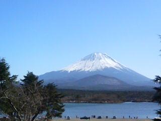 裏富士と精進湖